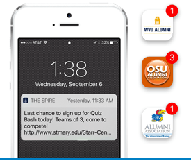 How notifications appear on your smartphone