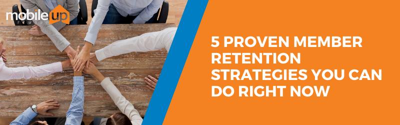 member retention strategies