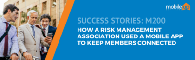 How a Risk Management Association Used a Mobile App to Keep Members Connected